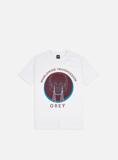T-shirt a Manica Corta Obey Obey Transmission Basic T-shirt
