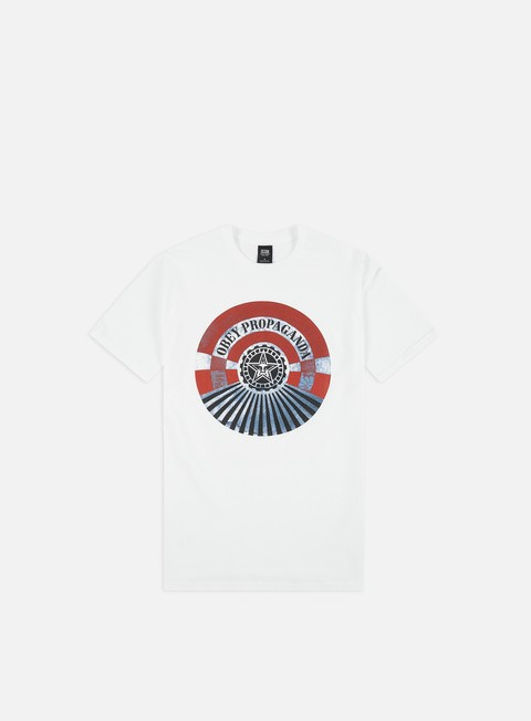 ddf9ad0a Short Sleeve T-shirts Obey Obey Tunnel Vision Basic T-shirt