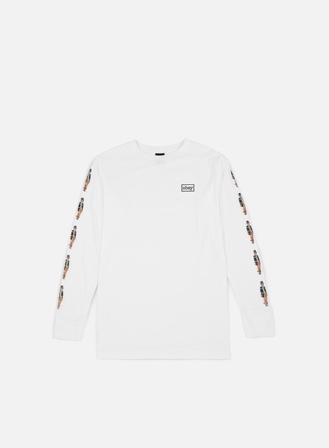 Short Sleeve T-shirts Obey Obey Typewriter T-shirt