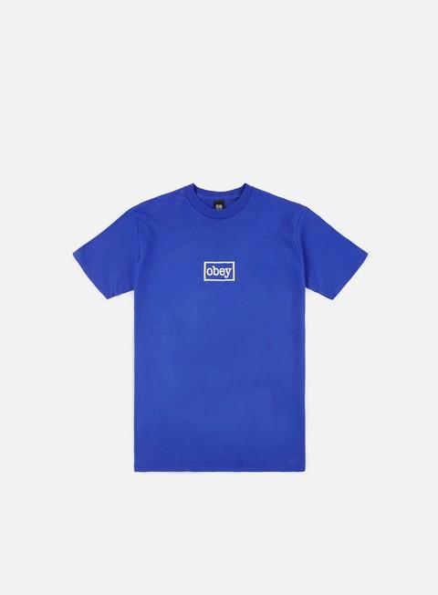 Outlet e Saldi T-shirt a Manica Corta Obey Obey Typewritter T-shirt
