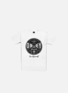 Obey - Obey Under Pressure T-shirt, White 1
