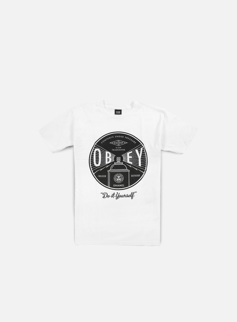 Short Sleeve T-shirts Obey Obey Under Pressure T-shirt