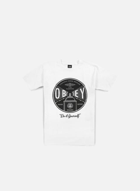 Outlet e Saldi T-shirt a Manica Corta Obey Obey Under Pressure T-shirt