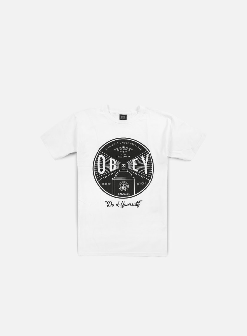 Obey - Obey Under Pressure T-shirt, White