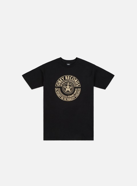 t shirt obey obey visual fidelity t shirt black
