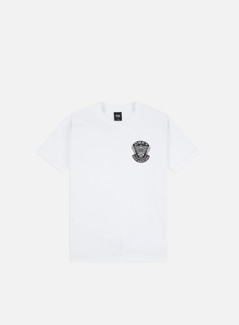 T-shirt a Manica Corta Obey Obey World Prop Badge Basic T-shirt