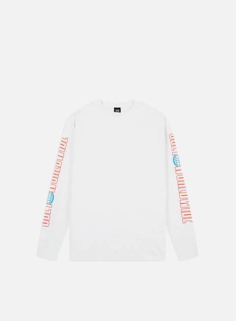 Outlet e Saldi T-shirt a manica lunga Obey Obey Worldwide 2 Basic LS T-shirt
