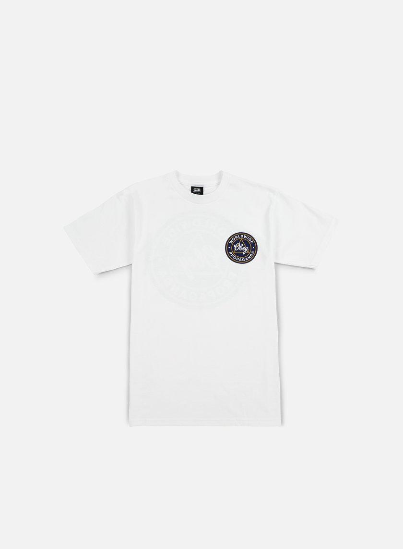 Obey - Obey Worldwide Propaganda T-shirt, White