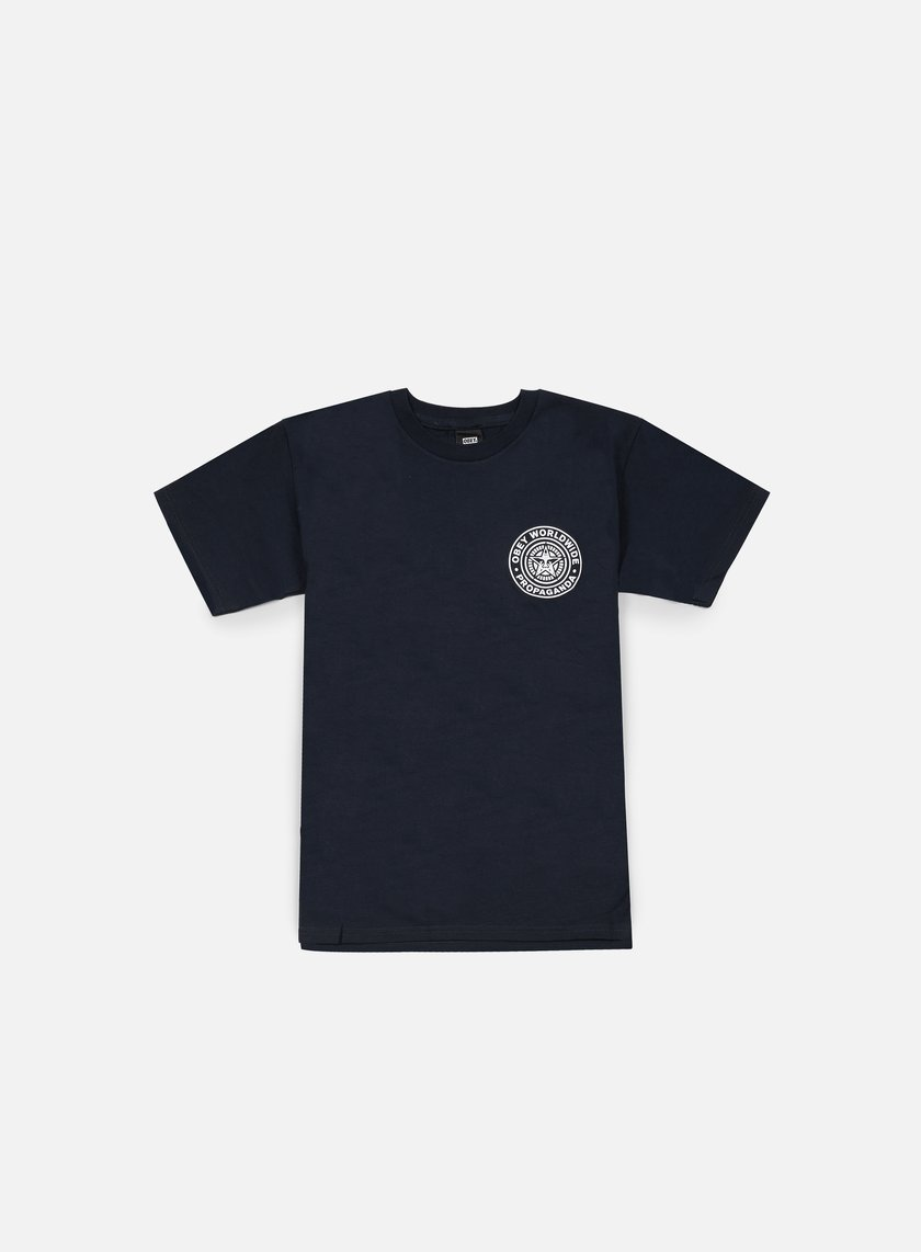 Obey - Obey Worldwide Seal T-shirt, Navy