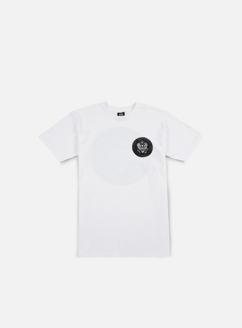 t shirt obey oil eagle t shirt white