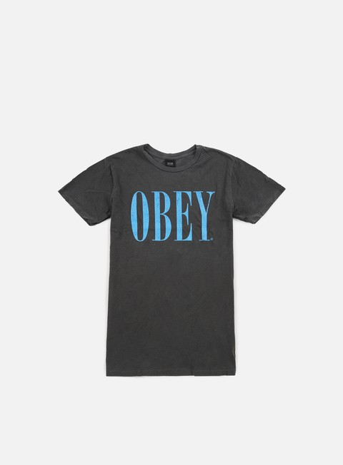 Outlet e Saldi T-shirt a Manica Corta Obey Old Times Pigment T-shirt