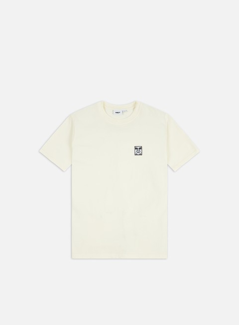 Short Sleeve T-shirts Obey Organic Icon Knit T-shirt