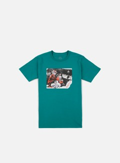 Obey - Outside Agitators T-shirt, Teal 1