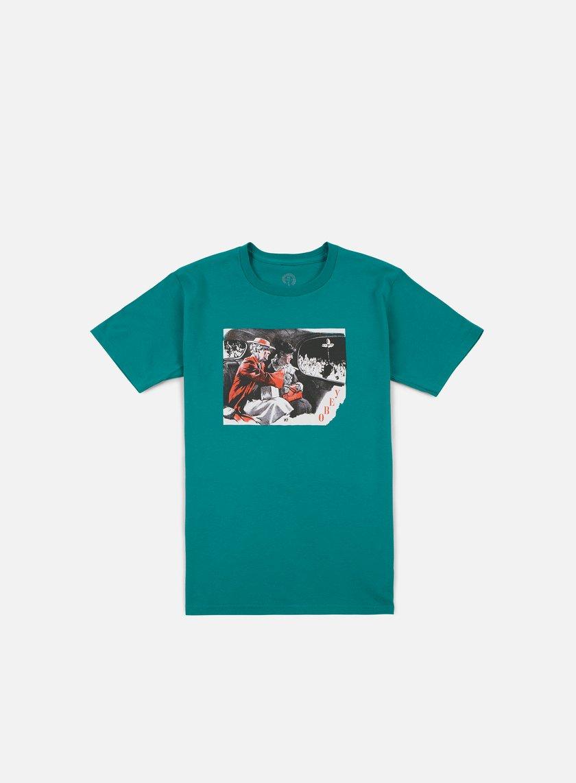 Obey - Outside Agitators T-shirt, Teal