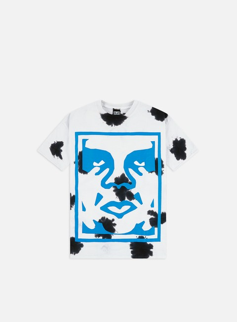 Sale Outlet Short Sleeve T-shirts Obey Paper Cut Heavyweight Tie Dye T-shirt