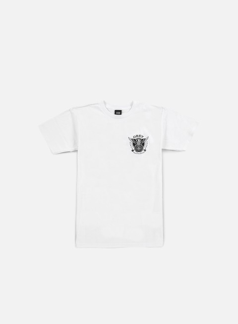 Short Sleeve T-shirts Obey Peace & Justice Eagle T-shirt
