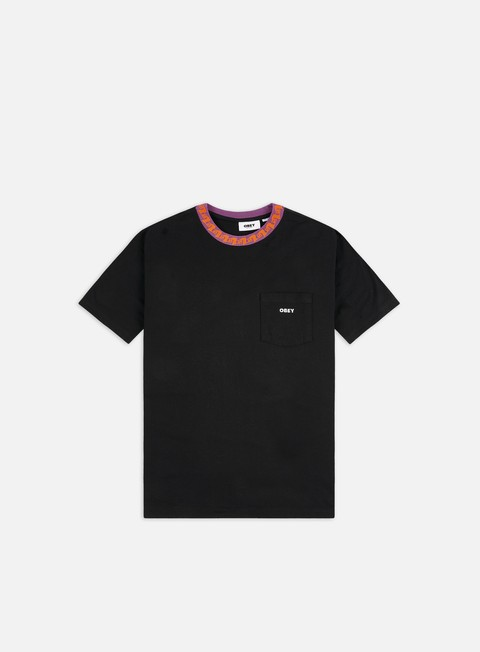 Short Sleeve T-shirts Obey Plona Pocket T-shirt