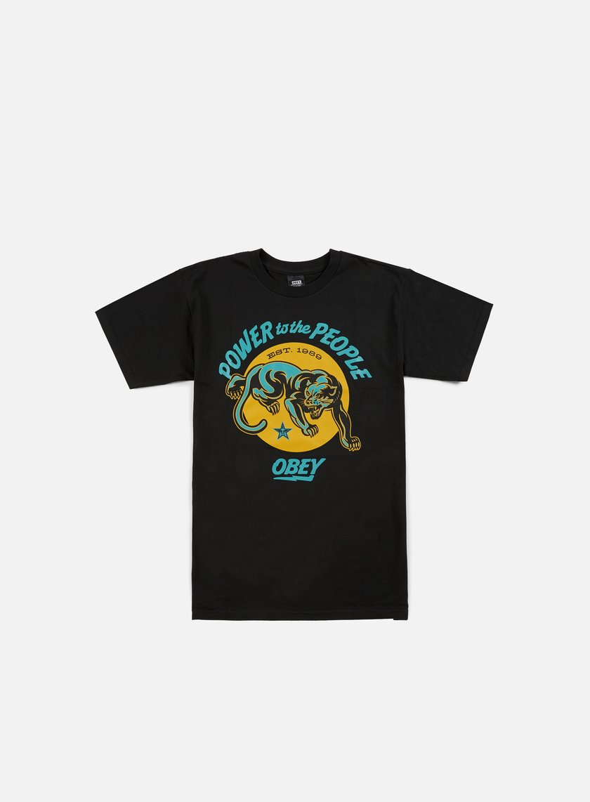 Obey Power To The People Panther T-shirt