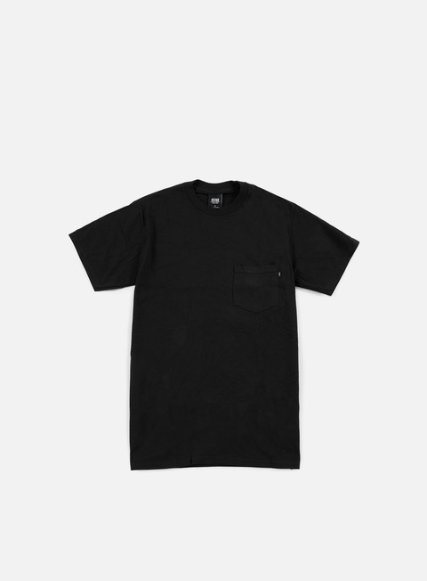 t shirt obey premium basic pocket t shirt black