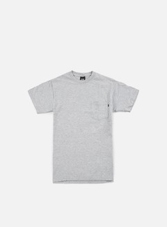 Obey - Premium Basic Pocket T-shirt, Heather Grey