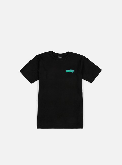 T-shirt Basic Obey Quake Embroidered T-shirt