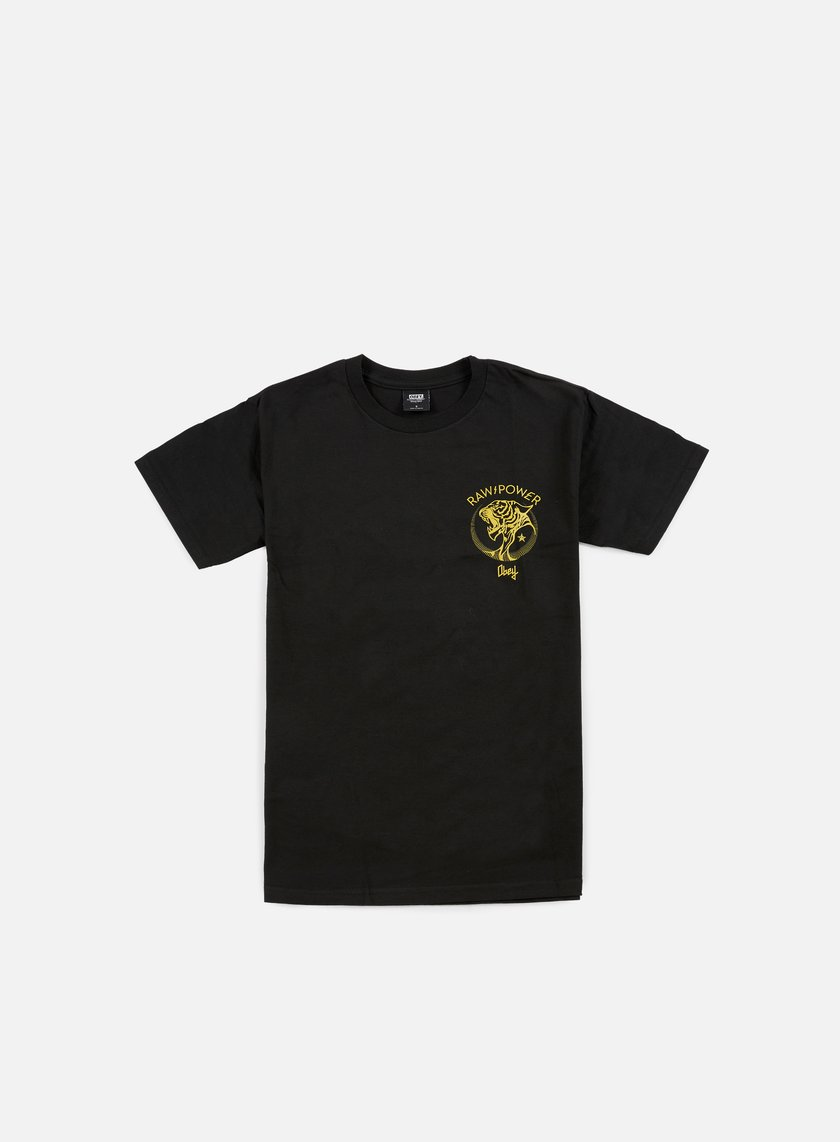 Obey - Raw Power Tiger T-shirt, Black