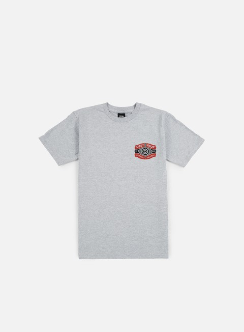 t shirt obey retinal delivery t shirt heather grey