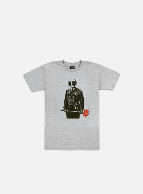 t shirt obey sadistic florist t shirt heather grey