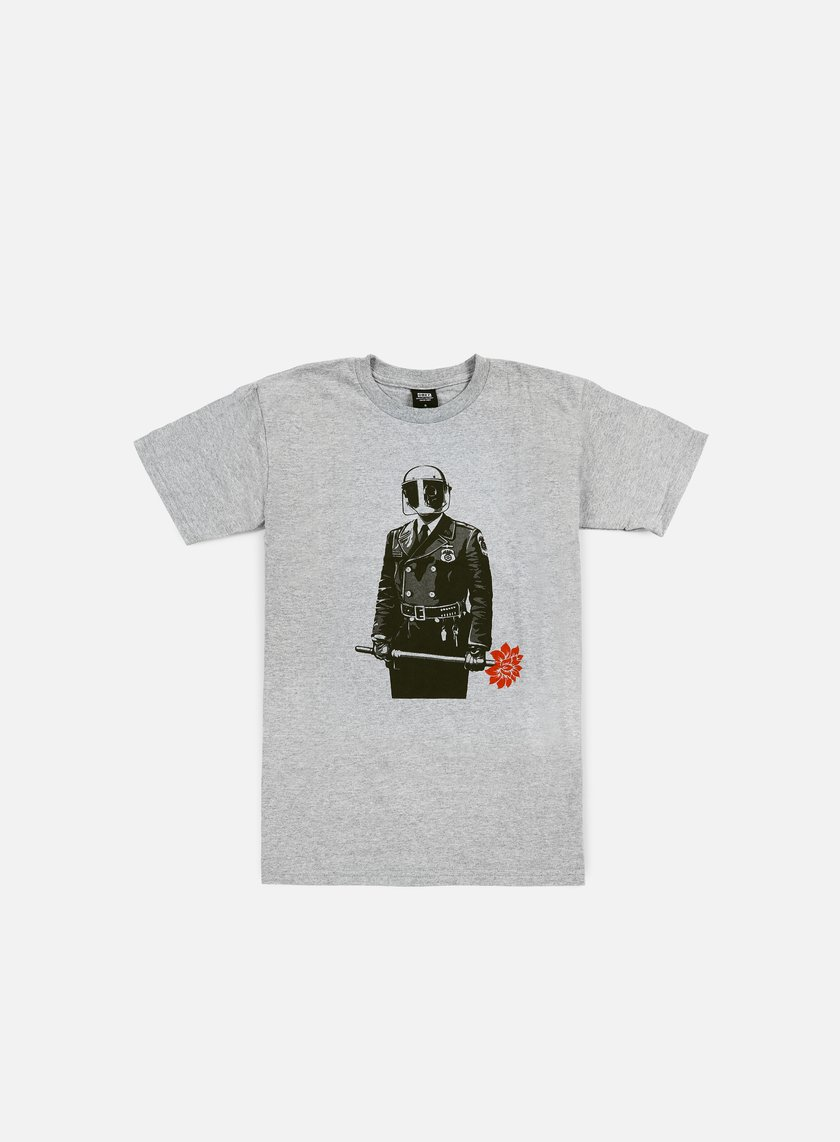 Obey - Sadistic Florist T-shirt, Heather Grey