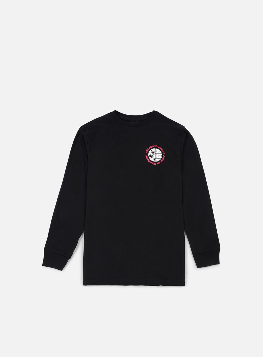 Obey - Security Services LS T-shirt, Black