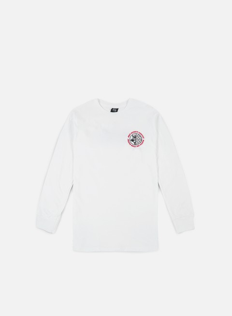 t shirt obey security services ls t shirt white
