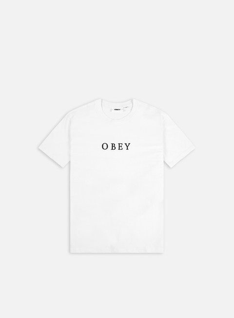 Short Sleeve T-shirts Obey Smith T-shirt