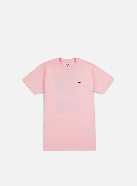 t shirt obey smokes once artist t shirt pink