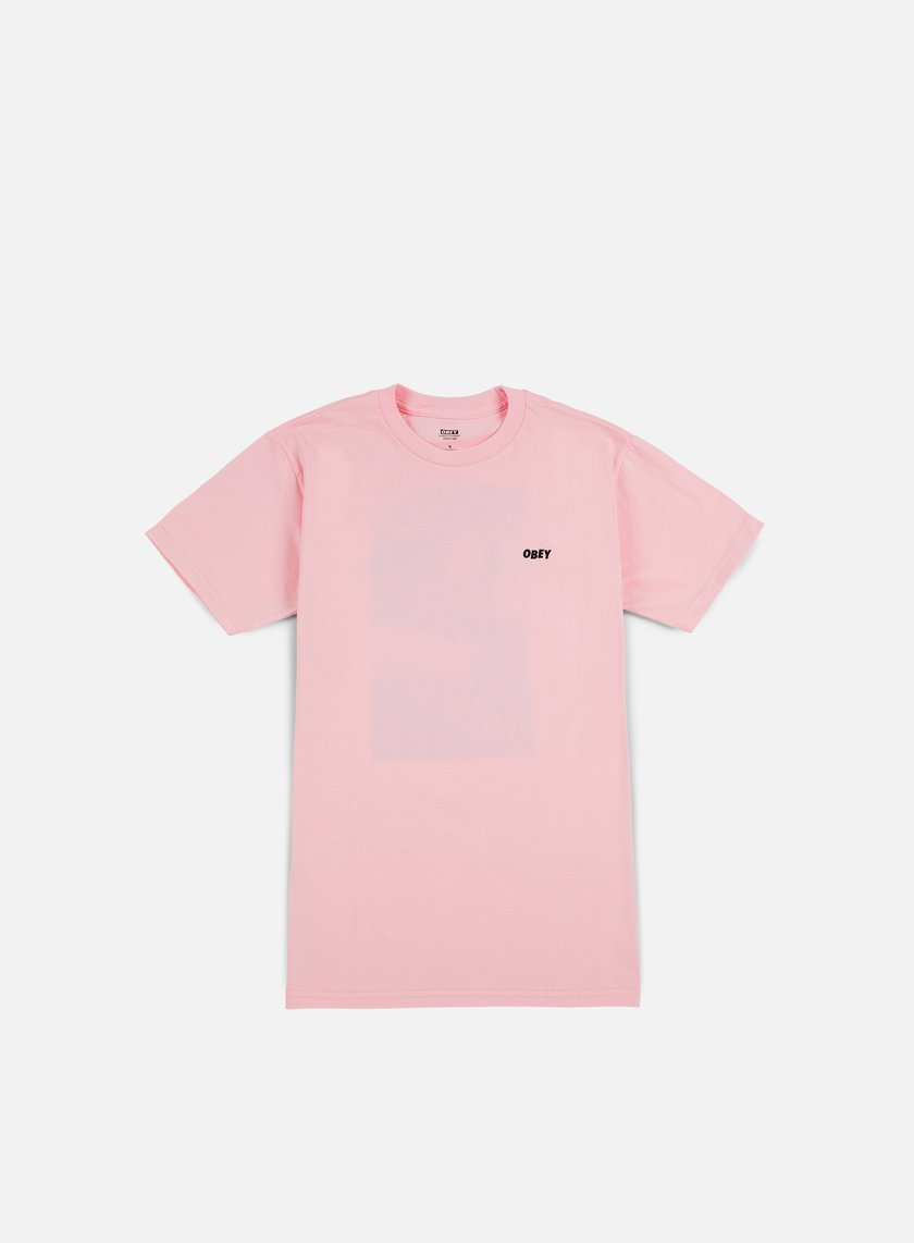 Obey - Smokes Once Artist T-shirt, Pink