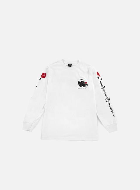 Long Sleeve T-shirts Obey Society Secrete LS T-shirt
