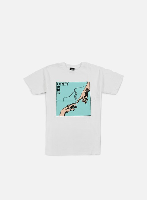 t shirt obey spark of life t shirt white