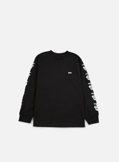 Obey - The Creeper LS T-shirt, Black 1