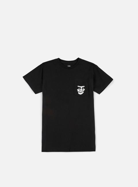 Outlet e Saldi T-shirt a Manica Corta Obey The Creeper Pocket T-shirt
