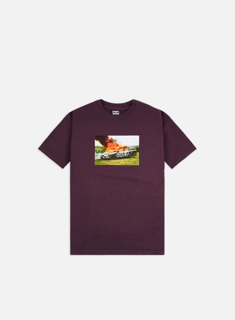 Short Sleeve T-shirts Obey The Suburbs Heavyweight T-shirt
