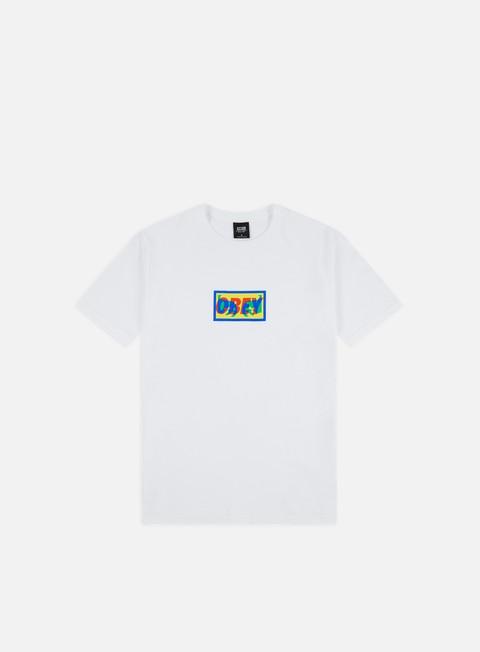 Outlet e Saldi T-shirt a Manica Corta Obey Transparent Obey Basic T-shirt