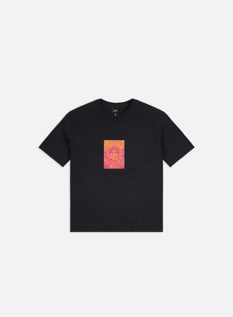 Short sleeve T-shirts Obey WMNS Back Pedal Shrunken T-shirt