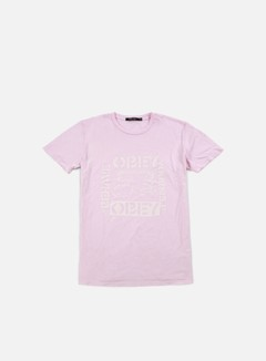 Obey - WMNS Behave Yourself T-shirt, Pink 1