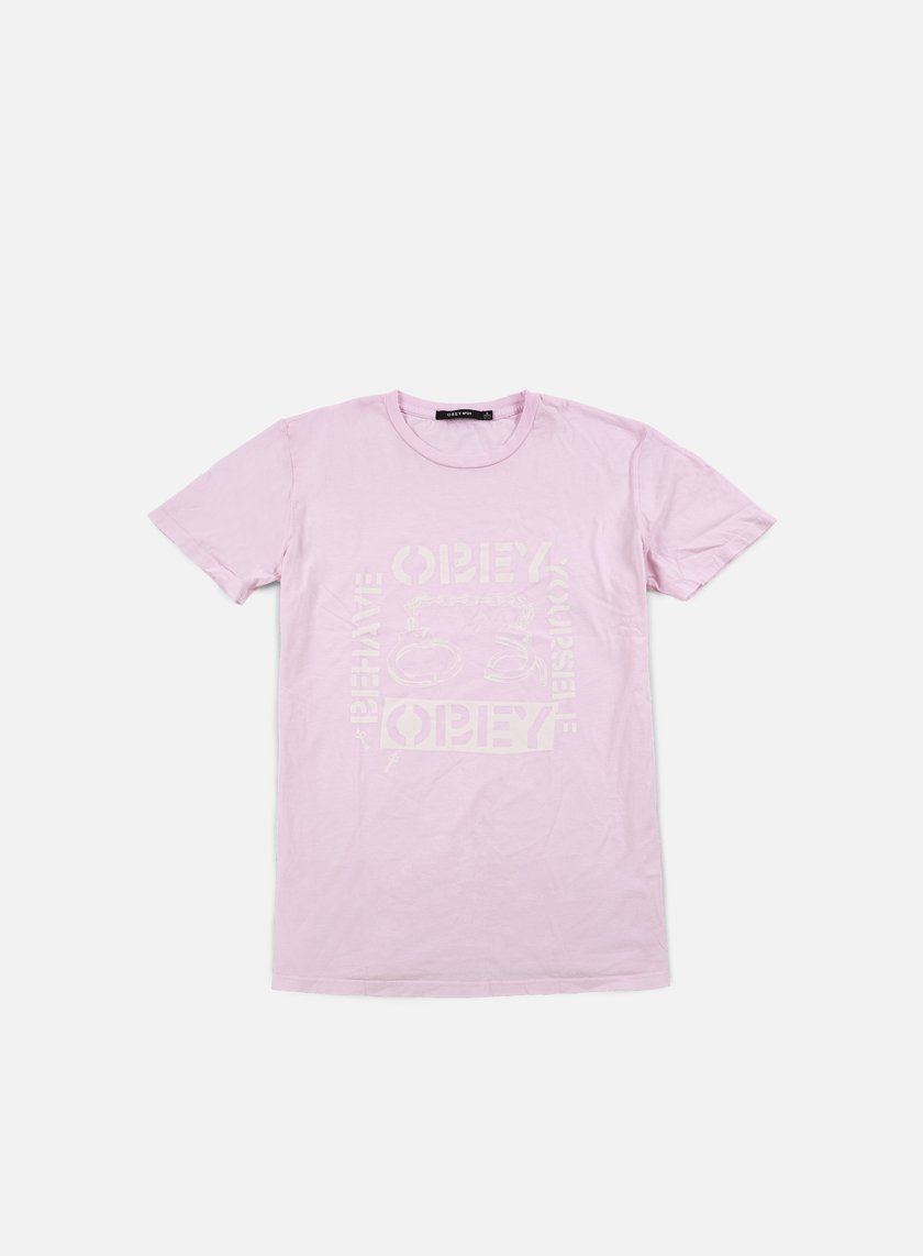Obey - WMNS Behave Yourself T-shirt, Pink