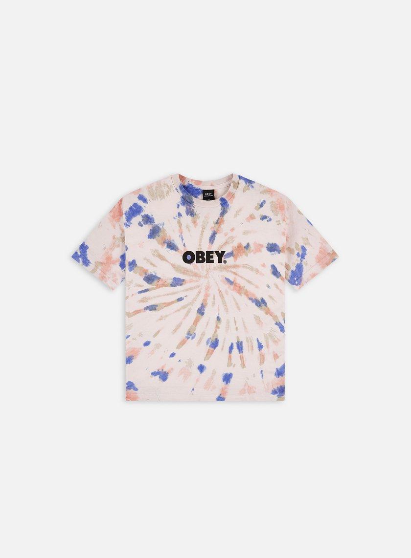 Obey WMNS Bold Custom Box Tie Dye T-shirt
