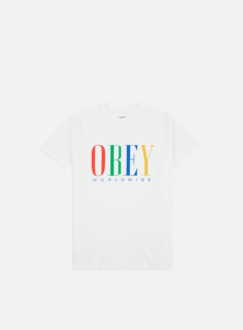 Outlet e Saldi T-shirt a Manica Corta Obey WMNS Chess King Classic T-shirt