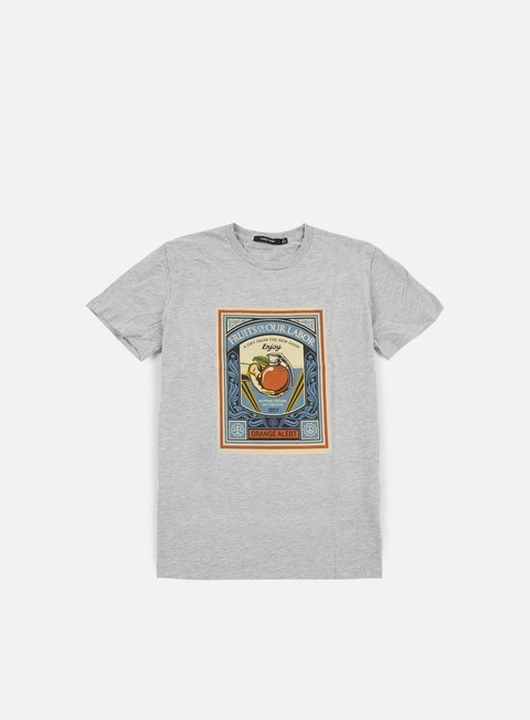 t shirt obey wmns fruits of our labor classic t shirt heather grey
