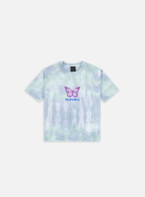 Obey WMNS Hell On Earth Custom Crop Tie Dye T-shirt
