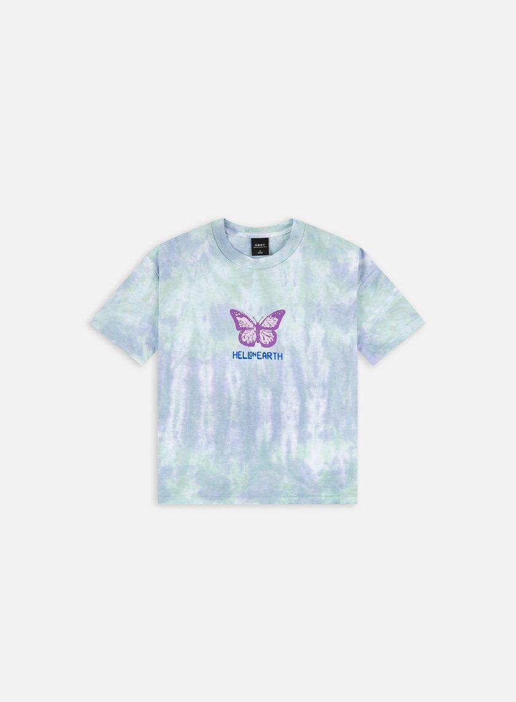 Obey WMNS Hell On Earth Custom Crop Tie Dye T-shirt