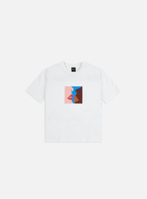 Outlet e Saldi T-shirt a Manica Corta Obey WMNS Obey Hers Custom Crop T-shirt