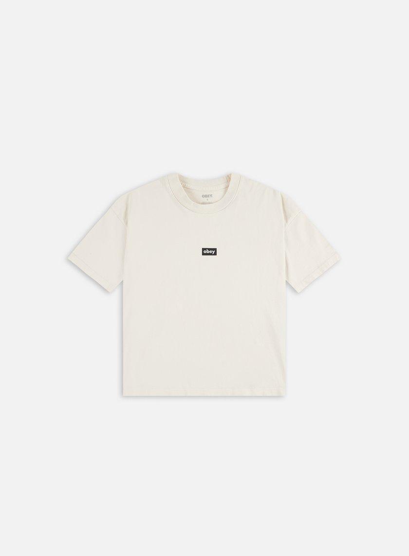 Obey WMNS Obey Tag Custom Crop T-shirt